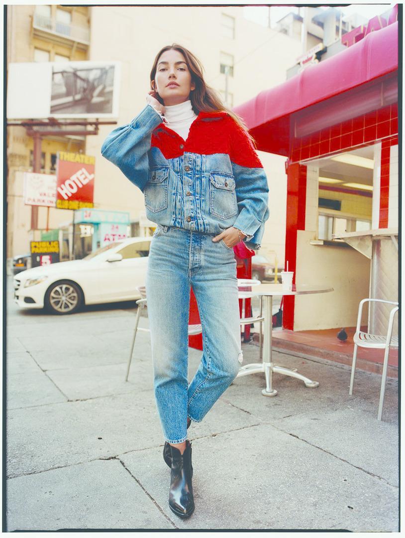 levis-jeans levis-hand-crafter levis-lily-aldridge