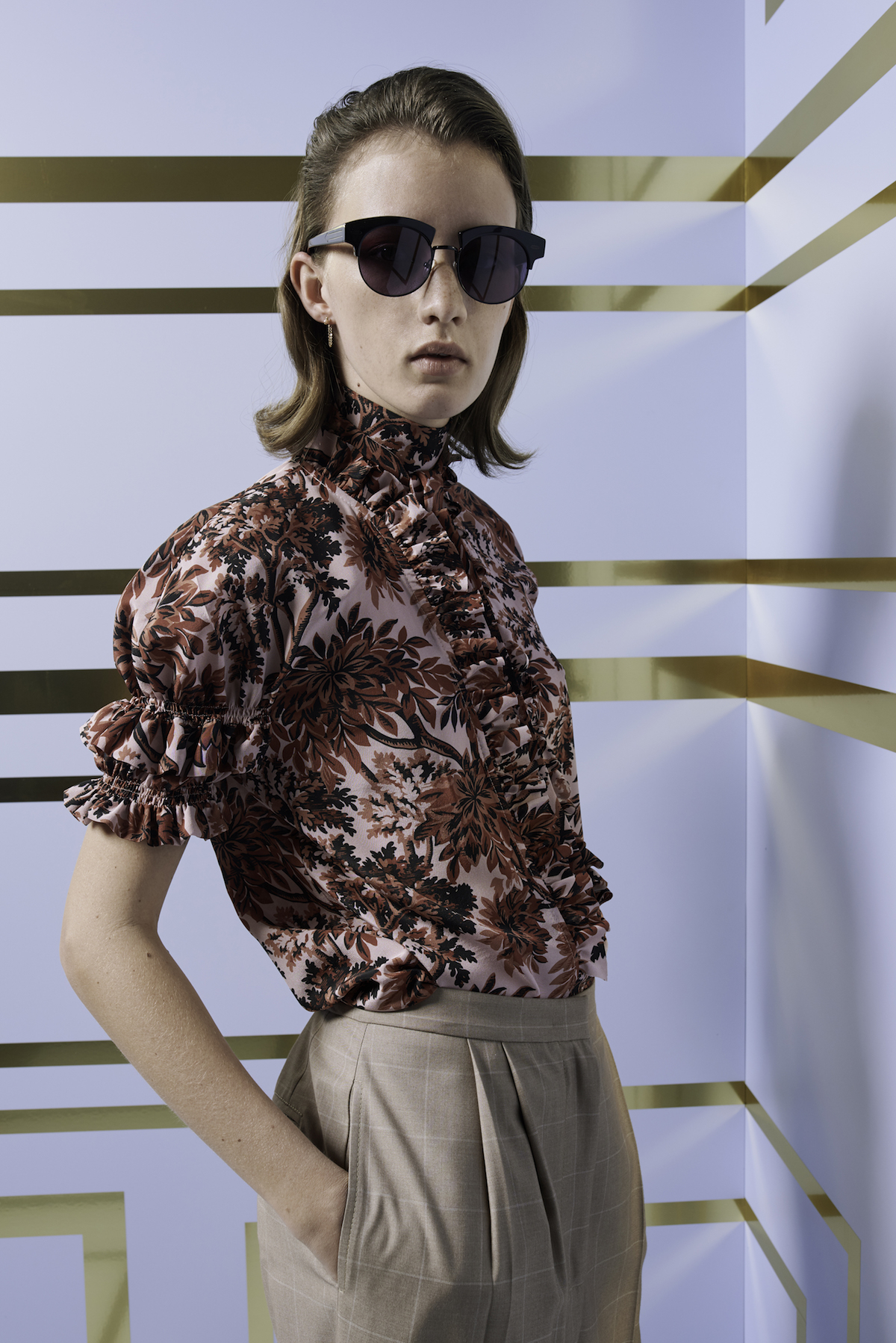 karen-walker lost-in-paradise fashion-collection spring-2018 david-bowie