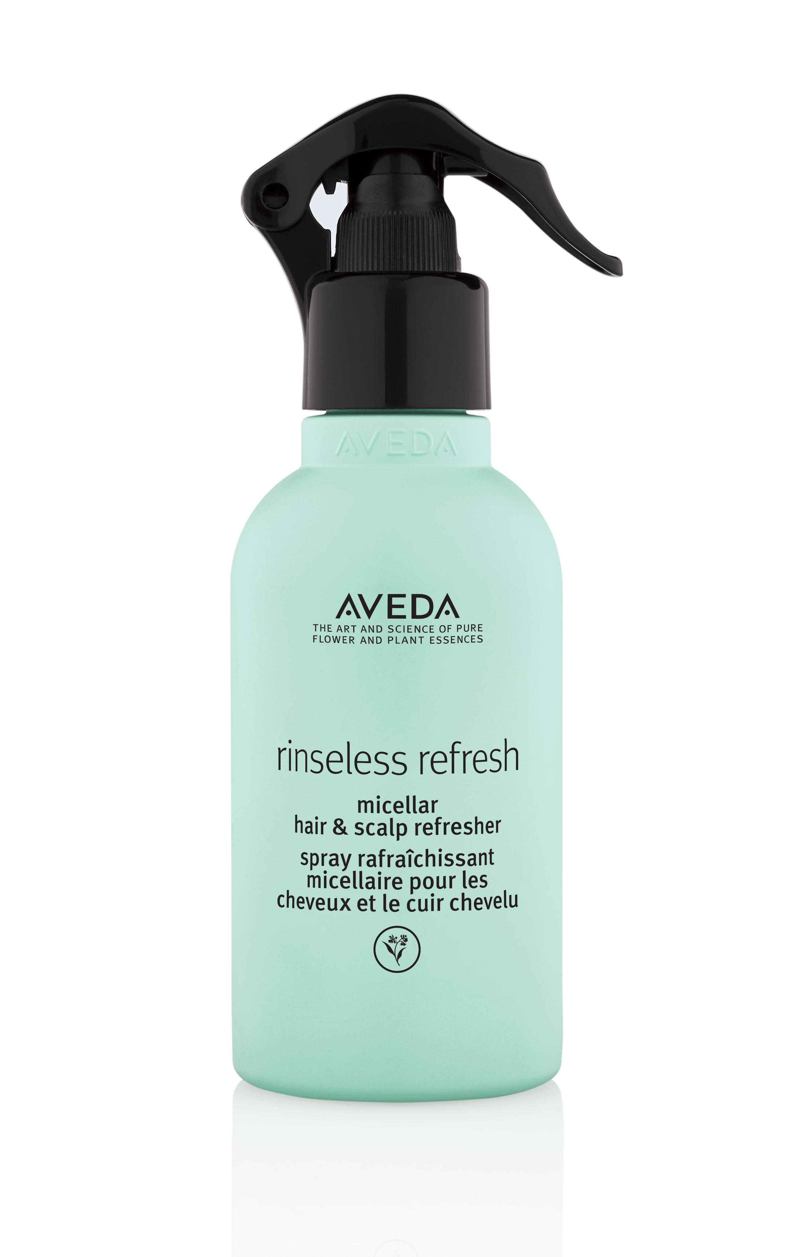 aveda, no-wash, no-wash-products, earth-month