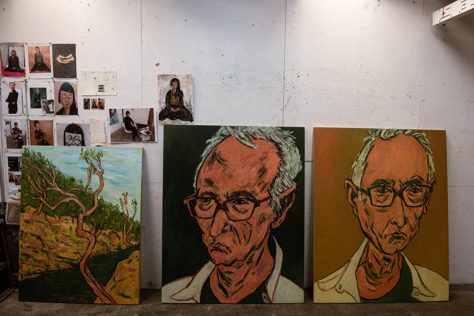 2019 Archibald Prize Winner Tony Costa on his portrait of Lindy Lee