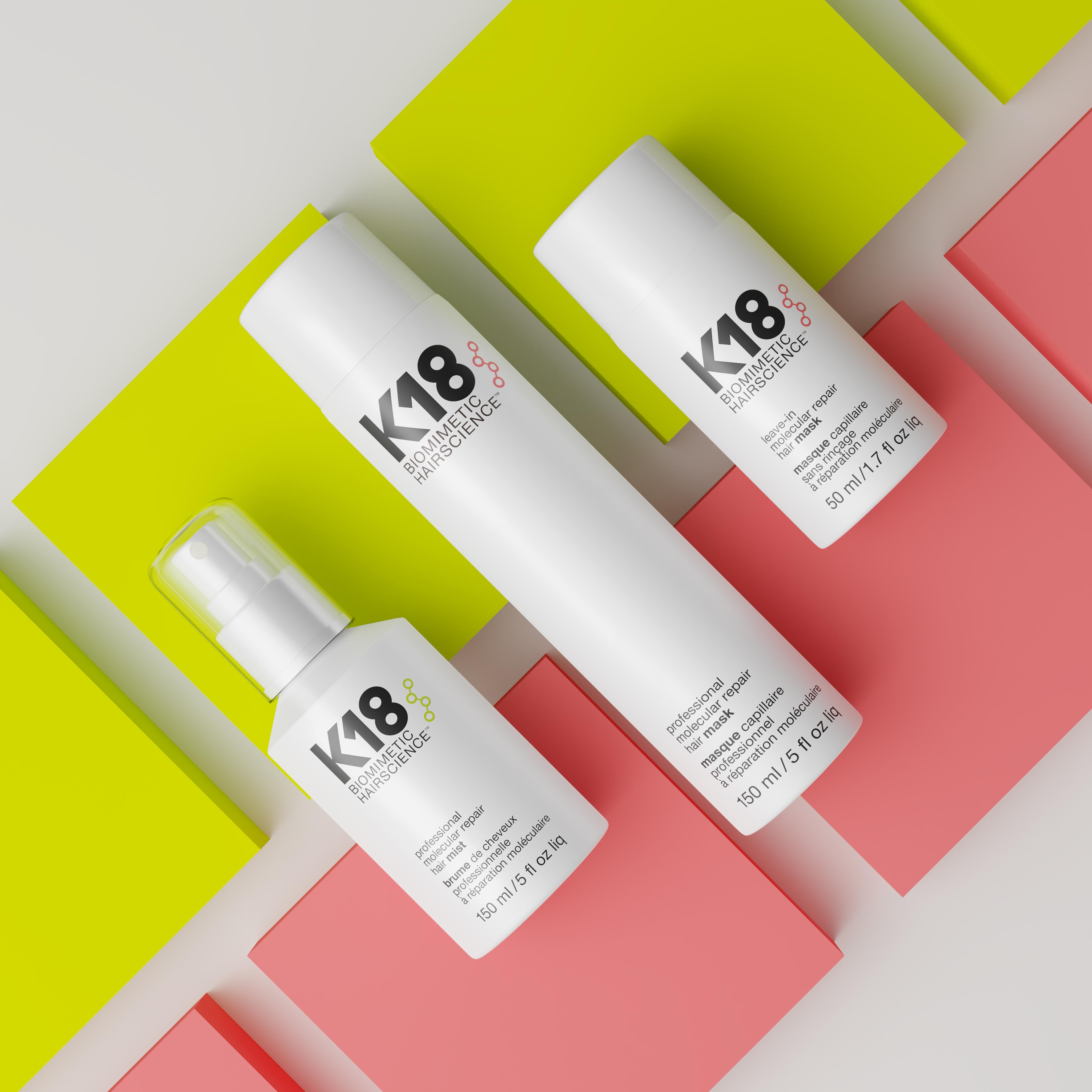 K18 Hair Range