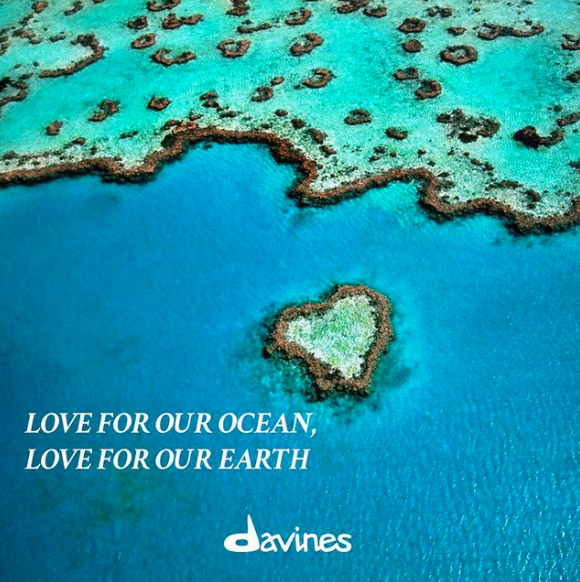 Davines Support The Reef Restoration Project in honour of World Ocean Day